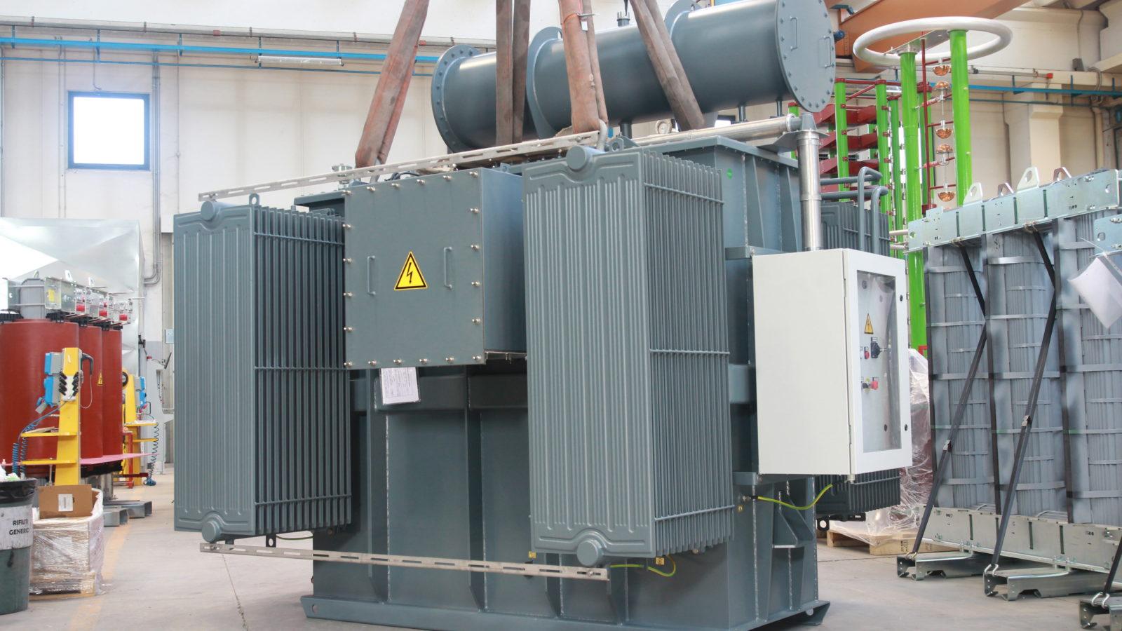 5400kVAr Shunt reactor with motorized off load tap changer