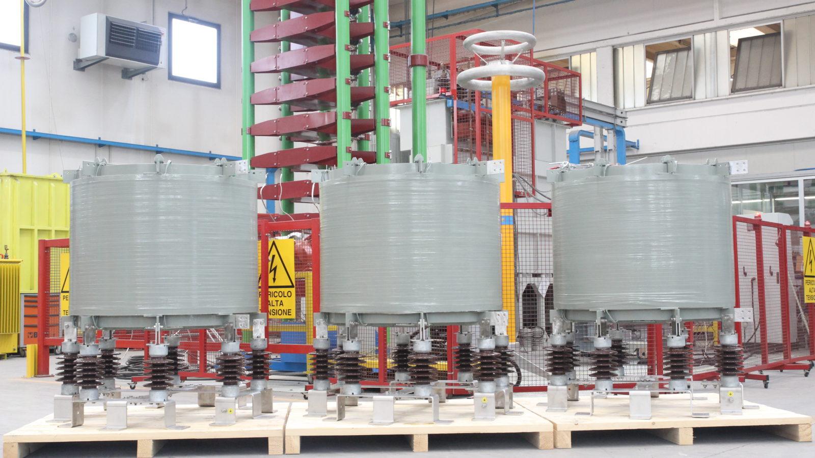 Short circuit limiting reactor